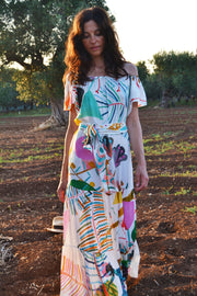 Dresses - Thalia Flair Sleeve Maxi Dress
