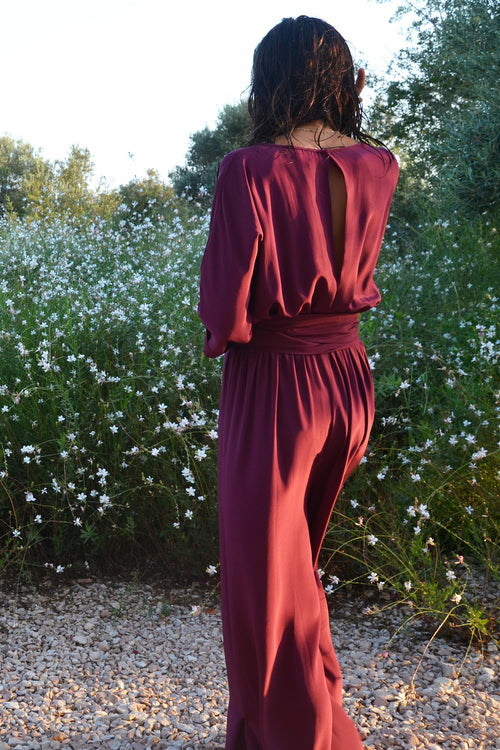 Mariela Open Back Jumpsuit - Soler London - Alex Al-Bader