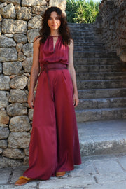 Monaco Key Hole Jumpsuit - Soler London - Alex Al-Bader