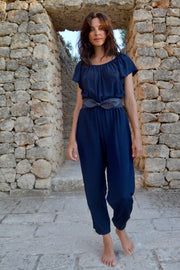 Thalia Flair Sleeve Jumpsuit - Soler London - Alex Al-Bader