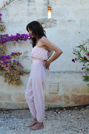 Uta Frilled Top Jumpsuit - Soler London - Alex Al-Bader