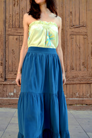 Pia Gathered Tier Maxi Skirt | Bespoke it!