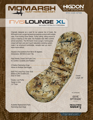 INVISI-LOUNGE XL