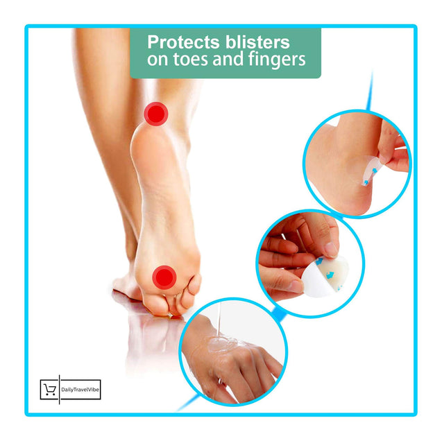 MIRACLE HEEL BLISTER PLASTER (4 PCS/SET)