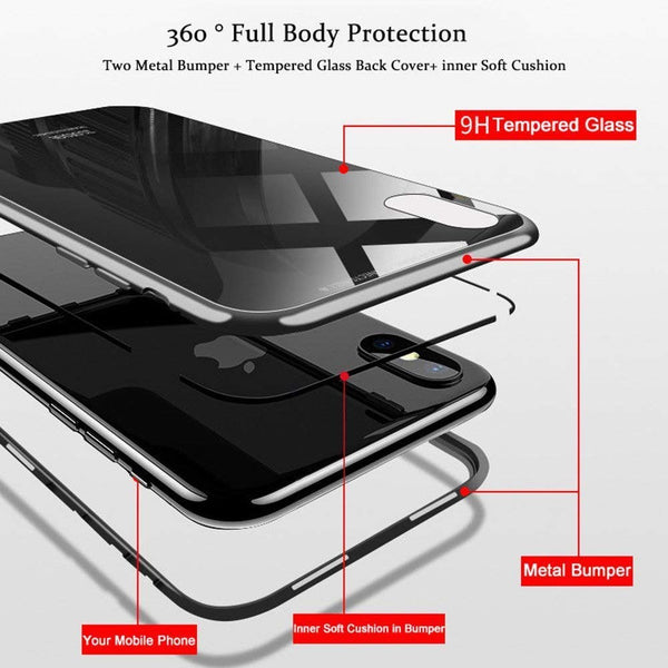 B2 | Ultra Slim Lightweight Case [Magnetic Adsorption Technology] - B2 Smile