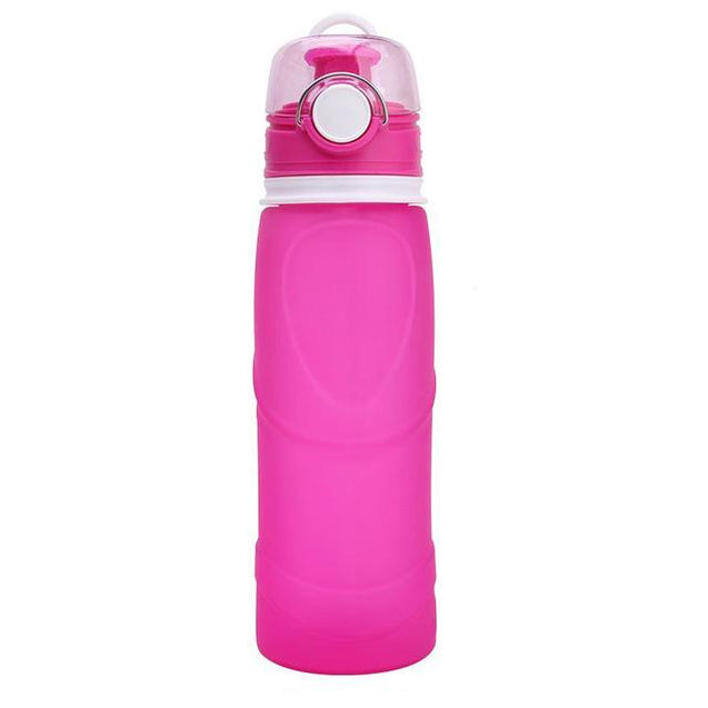 750ML OUTDOORS COLLAPSIBLE WATER BOTTLE