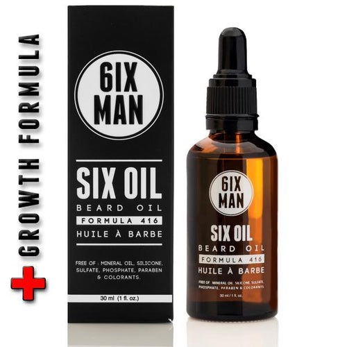 6IXMAN Six Oil Beard Oil 30 ML