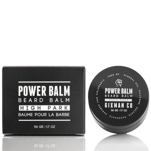 6IXMAN Power Balm Beard Balm 1.7 OZ