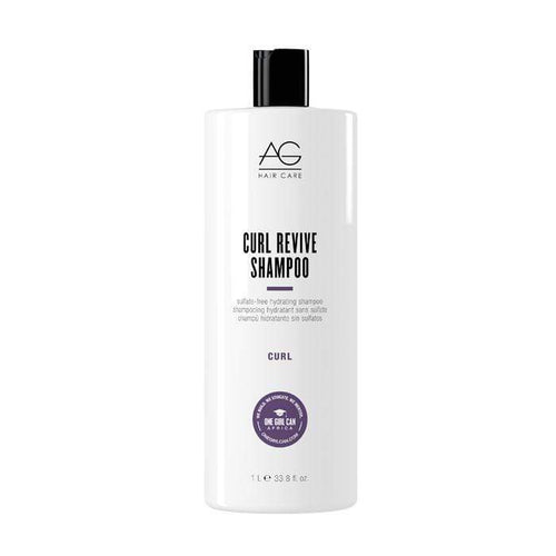 AG Hair CURL REVIVE Sulfate-Free Hydrating Shampoo 1 L