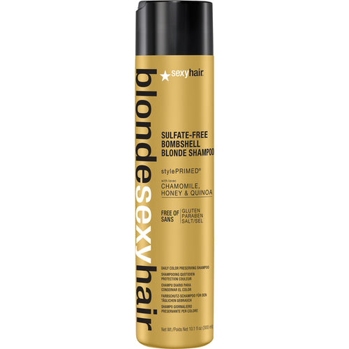 SEXY HAIR BOMBSHELL BLONDE SHAMPOO 300 ML