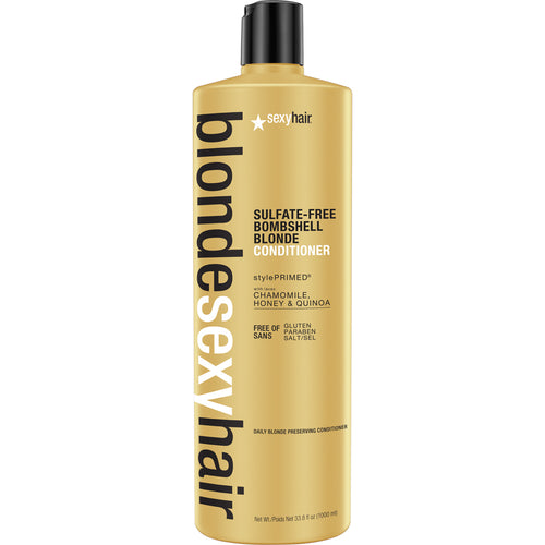 SEXY HAIR BOMBSHELL BLONDE CONDITIONER 1 LTR