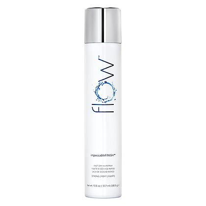 FLOW impeccableFINISH FAST DRY Hairspray 10 OZ