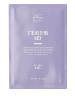 AGhair Sterling Silver Mask 1 oz