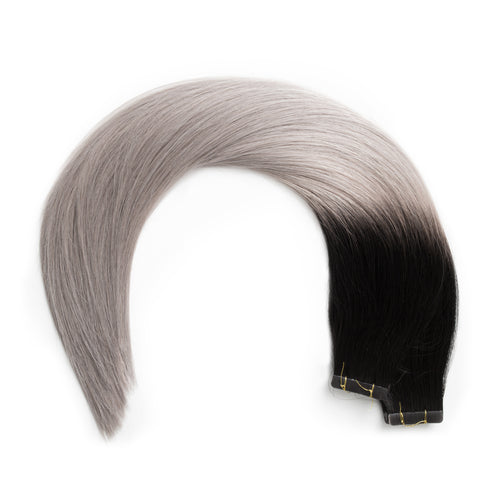 Seamless1 Salt and Pepper Tape In Extensions
