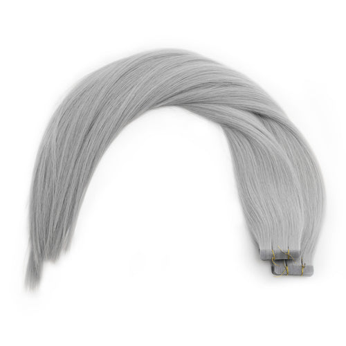 Seamless1 Silver Fox Tape In Extensions
