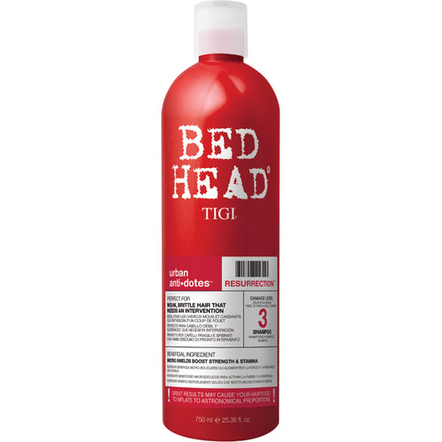 TIGI RESURRECTION SHAMPOO 750 ML