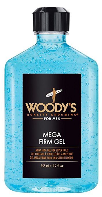 Woody's Mega Firm Hold Gel 12 OZ