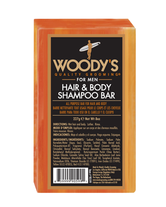 Woody's Hair & Body Shampoo Bar 8 OZ