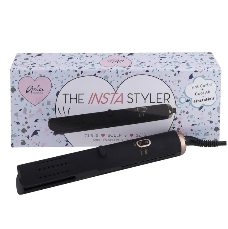 "Aria Beauty Insta Styler 1"" Straightener"