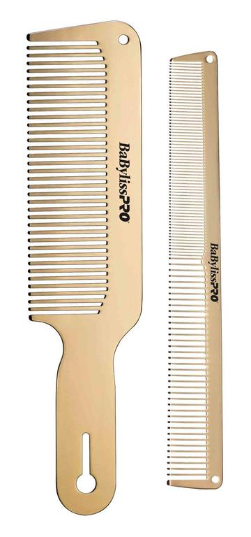 BaByliss Pro Metal Comb Duo