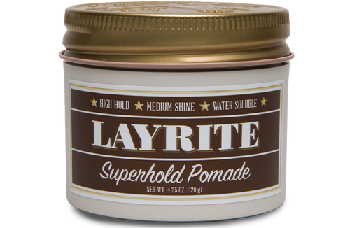 Layrite Superhold Pomade 4 OZ