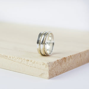 Piper * Meditation Ring * Spinner Ring * Spinning Ring * Anxiety Ring * Worry Ring * Boho Ring * Spin Ring * Prayer Ring * Custom Ring * - Spinning Ring - Songs of Ink and Steel - Jewellery - Bespoke