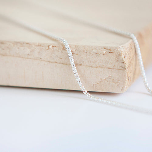 Silver Popcorn Chain * Popcorn Chain * Sterling Silver * Silver Popcorn Chain * Silver Popcorn Necklace * Popcorn Necklace * Popcorn Jewelry - Chain - Songs of Ink and Steel - Jewellery - Bespoke