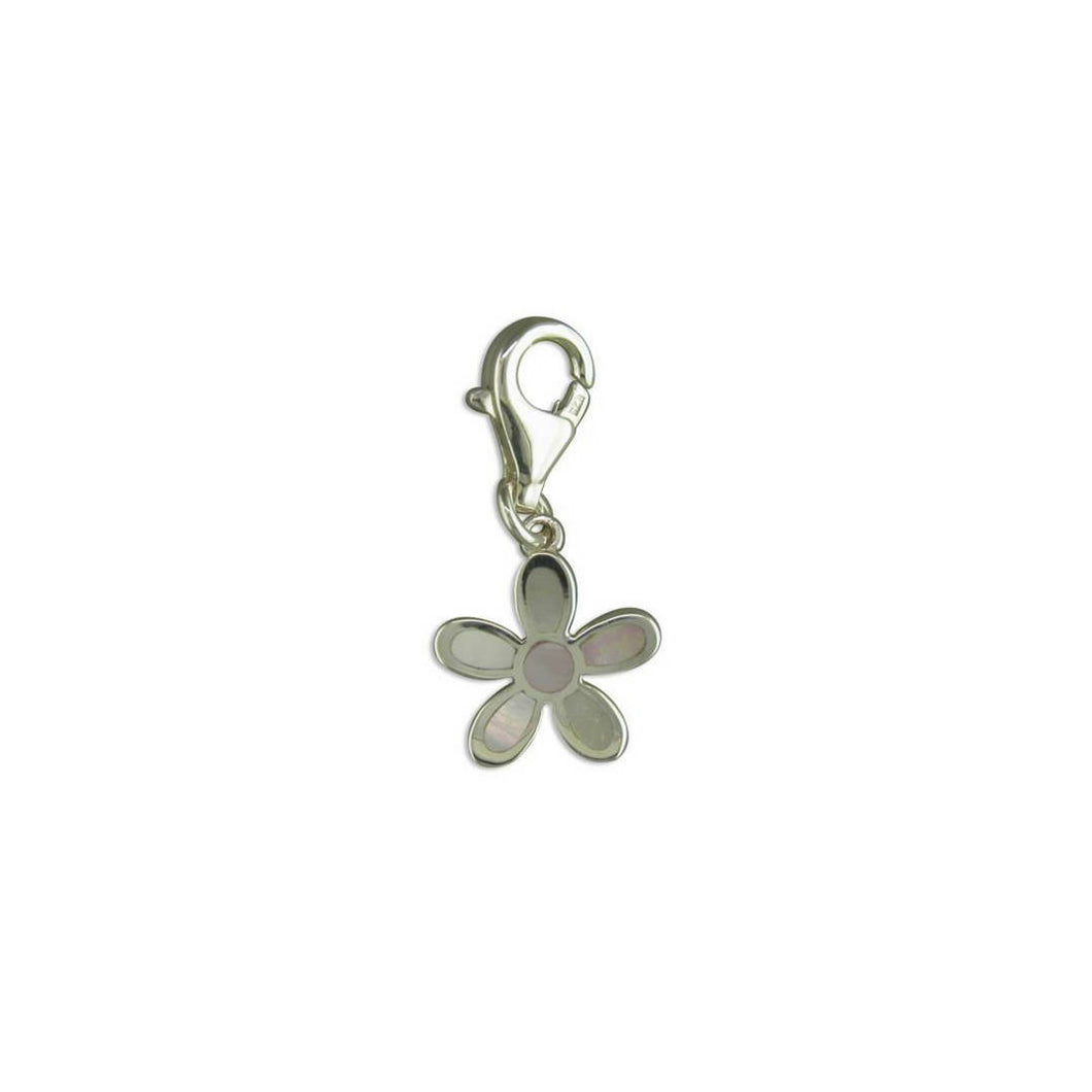 Mother of Pearl Flower - Charm - Songs of Ink and Steel - Jewellery - Bespoke
