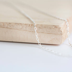 Silver Belcher Chain * Belcher Chain * Sterling Silver * Silver Belcher Chain * Silver Belcher Necklace * Belcher Necklace * Diamond Cut * - Chain - Songs of Ink and Steel - Jewellery - Bespoke