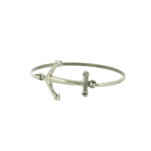 Phoebe * Anchor Bracelet * Sterling Silver * Silver Anchor * Anchor Jewelry * Nautical Anchor * Anchor Bangle * You are my Anchor * Beach - Bracelet - Songs of Ink and Steel - Jewellery - Bespoke