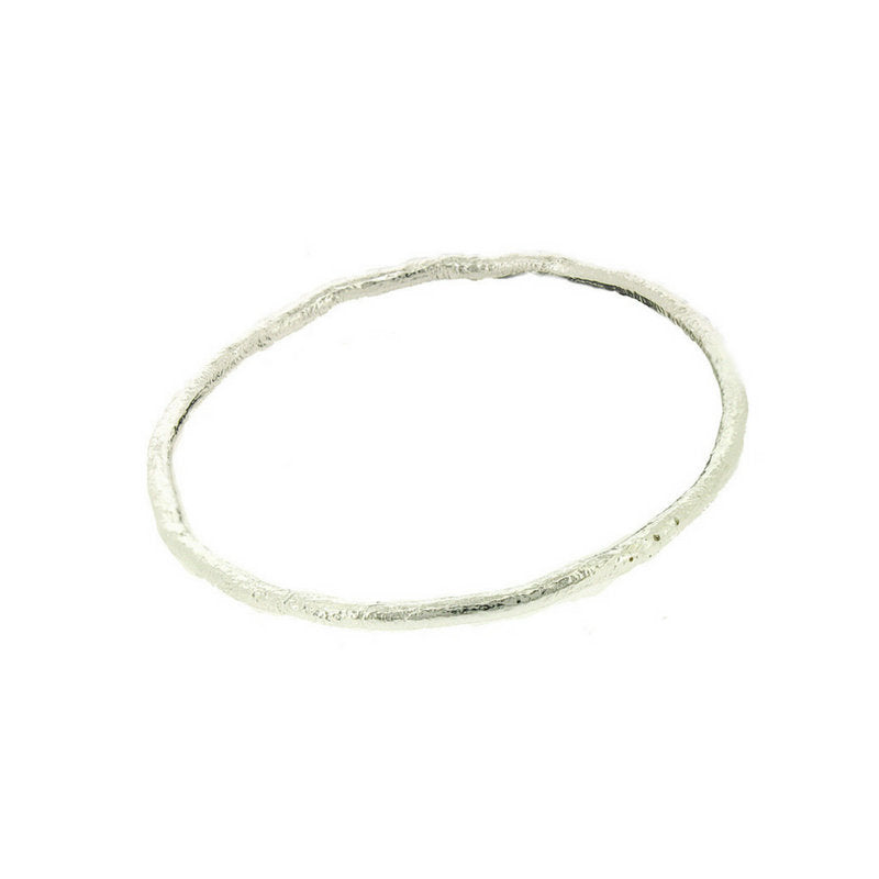 Penelope * Skinny Stacking Bangle * Sterling Silver * Lightweight Bangle * Layering Bangle * Stacking Jewelry * Skinny Bangle * Hammered - Bracelet - Songs of Ink and Steel - Jewellery - Bespoke