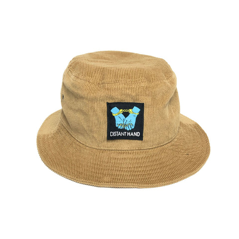 Handcuffs Tan Corduroy Bucket Hat