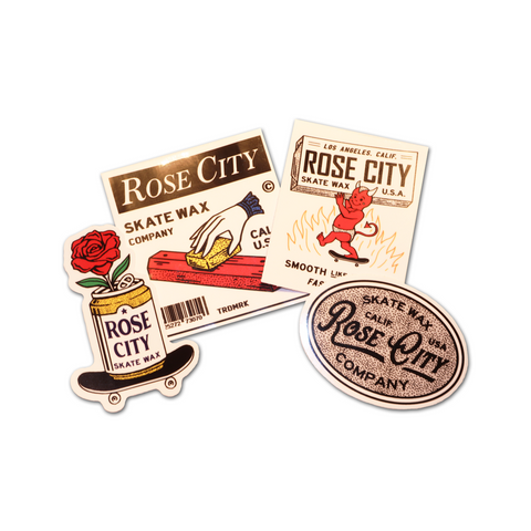 Rose City Sticker Pack