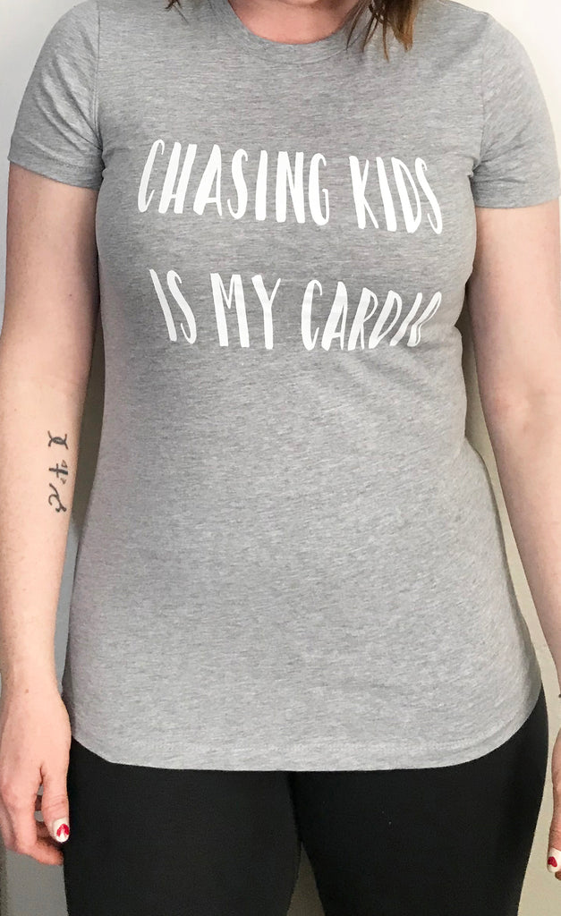 chasing kids is cardio