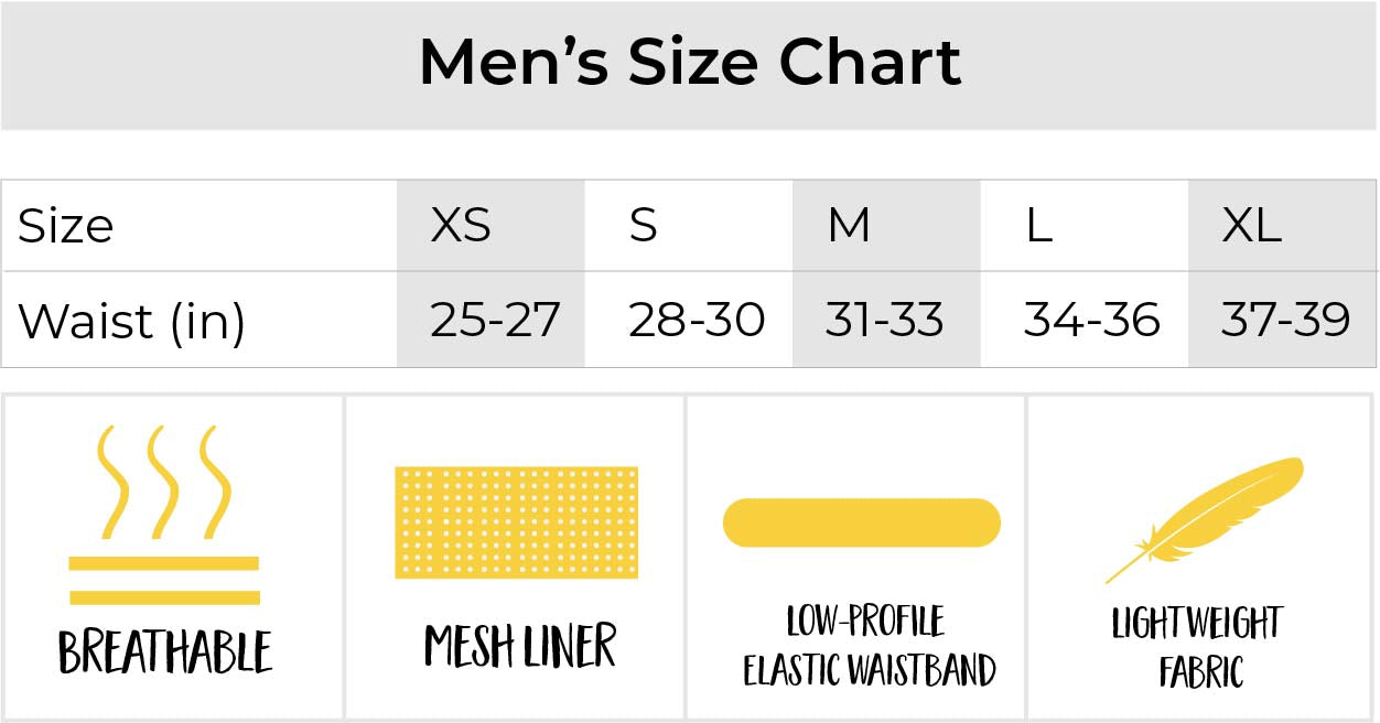 chicknlegs mens split running shorts size chart