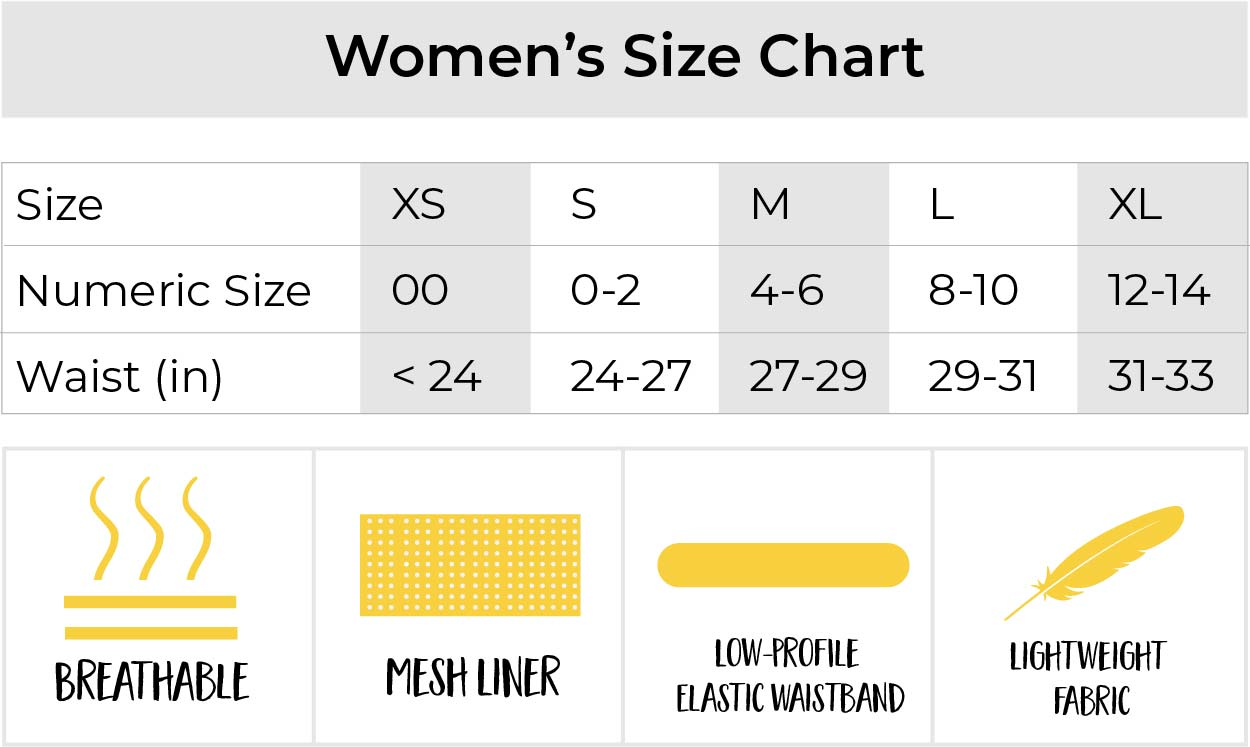 chicknlegs womens running shorts size chart