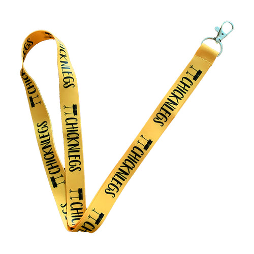 ChicknLegs Lanyard - Yellow