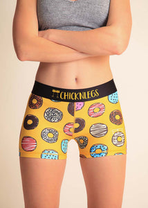 "ChicknLegs Salty Donuts 3"" Run Compression"