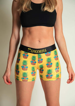 "ChicknLegs Pineapple Express 3"" Run Compression"