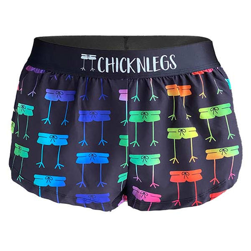 chicknlegs rainbow mile women's 1.5