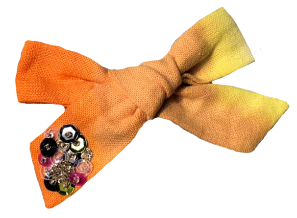 Spooky Sequins Bow