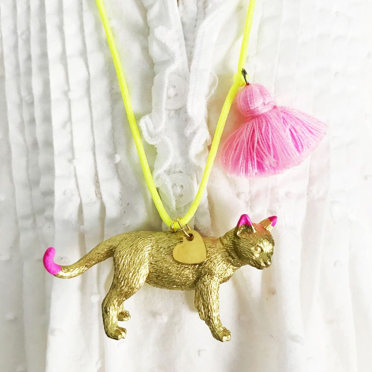 Meow! Cat Necklace