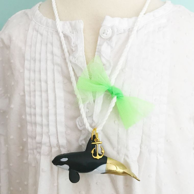Killer Whale Necklace