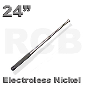 "24"" (61 cm) RCB Expandable Baton, Electroless Nickel"