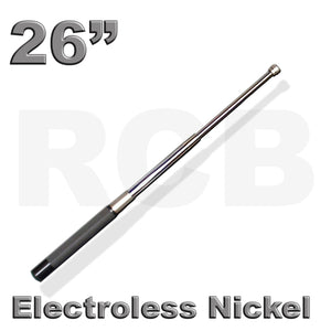 "26"" (66 cm) RCB Expandable Baton, Electroless Nickel"