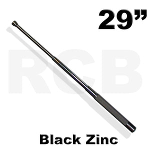 "29"" (73.5 cm) RCB Expandable Baton, Black Zinc </br> - <i>Ideal for Crowd Control Situations</i>"