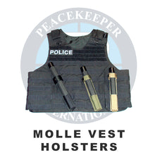 Midnight Blue/Navy Molle Vest Holster