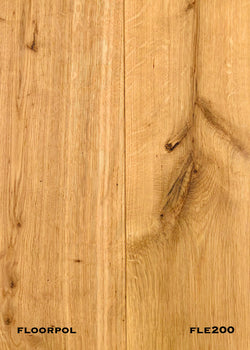 ENGINEERED OAK, RUSTIC GRADE FLE200