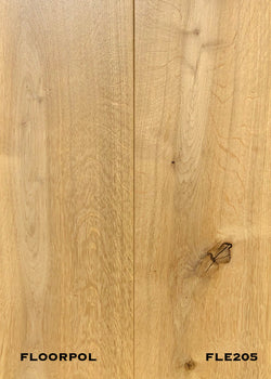 ENGINEERED OAK, RUSTIC GRADE FLE205