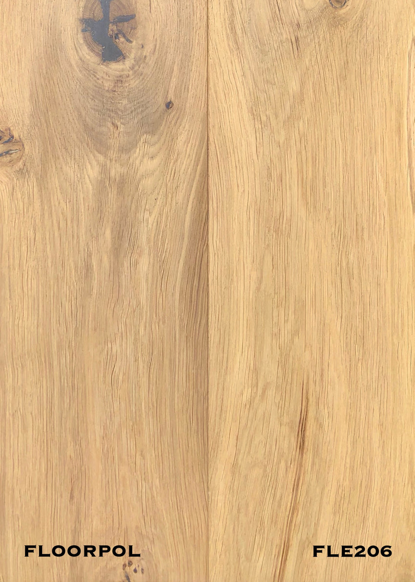 ENGINEERED OAK, RUSTIC GRADE FLE206